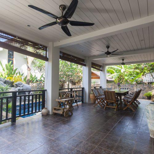 Malee Beach Villa Terrace