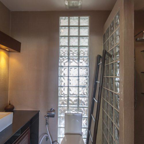 Badezimmer im Obergeschoss
